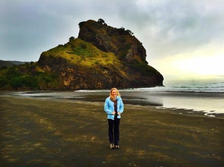 Piha Beach New Zealand Black Sand
