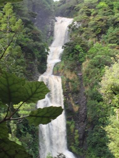 Piha Waterfall Auckland New Zealand